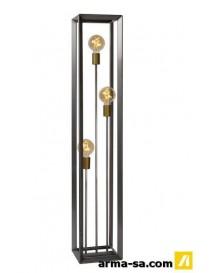 THOR - LAMPADAIRE - E27 - FER NATUREL  Éclairage décoratifLUCIDE