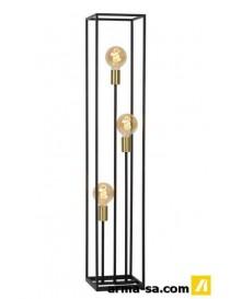 RUBEN - LAMPADAIRE - E27 - NOIR  Éclairage décoratifLUCIDE