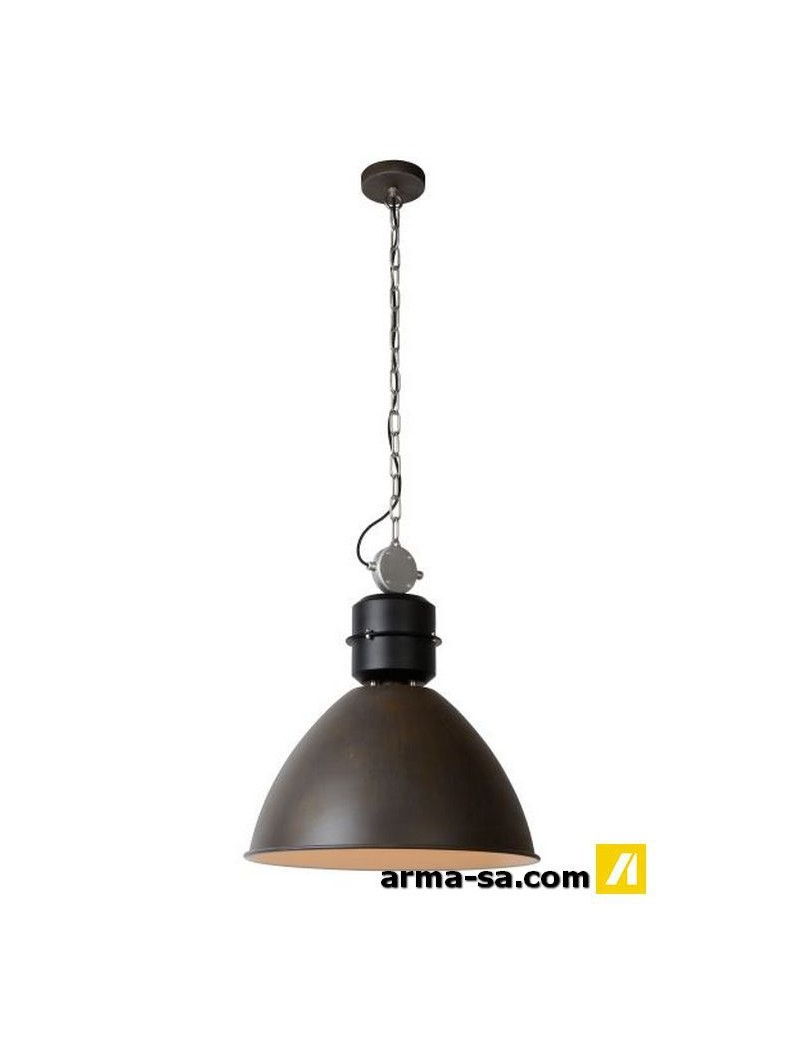 GARRIS - SUSPENSION - DIAM. 50 CM - E27 - ROUILLE  SuspensionLUCIDE