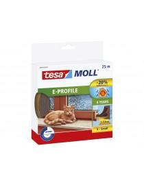 TESA MOLL BOURRELET PROFIL E 25M BRUN  Petite isolationTESA