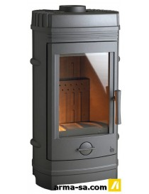 POELE A BOIS CASSINE 10KW ANTHRACITE