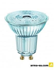 SPOT LED REFLECTEUR 36DEGRéS GU10 350LM 4.3W BLANC CHAUD - 3  Ampoules ledOSRAM