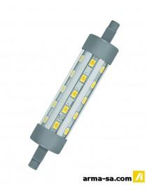 TL LED R7S 118MM 806LM 6.5W BLANC CHAUD  Ampoules ledOSRAM