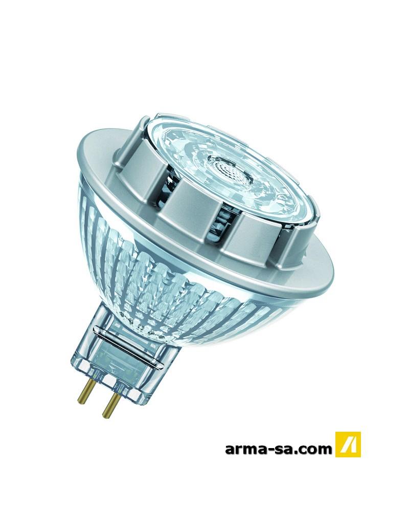 SPOT LED GU5.3 621LM 7.8W BLANC CHAUD DIMMABLE  Ampoules ledOSRAM