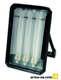 LAMPE DE TRAVAIL CFL 72W 3 PRISES SUR PIED  Lampes de chantierPROFILE