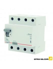 DIFFERENTIEL RX3 4P 40A 30MA  Fusibles & disjoncteursLEGRAND
