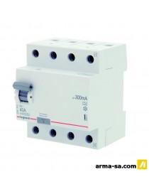 DIFFERENTIEL RX3 4P 40A 300MA  Fusibles & disjoncteursLEGRAND