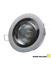 SPOT LED FIXE 90MM ALU BROSSE  SuspensionLIGHT THINGS