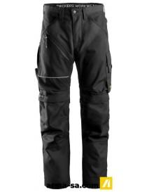 PANTALON RUFFWORK PETROLE-NOIR 88  PantalonsSNICKERS