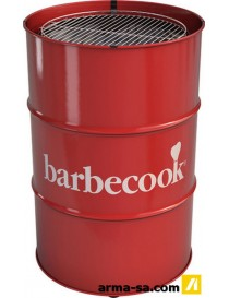 BARBECOOK EDSON RED  Barbecue au charbon de boisBARBECOOK