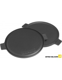 BARBECOOK PLANCHA FONTE EMAILLEE RONDE POUR BARBECUE, 1 FACE  Accessoires barbecueBARBECOOK