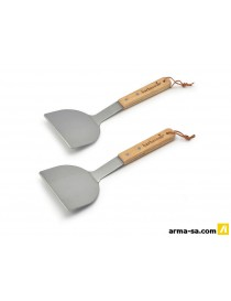 BARBECOOK PLANCHA SPATULES COUDES  Accessoires barbecueBARBECOOK