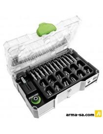 MINI-SYSTAINER T-LOC SYS-CE MINI 1 TL TRA  Coffres plastiquesFESTOOL