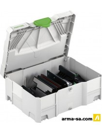 SYSTAINER D'ACCESSOIRES ZH-SYS-PS 420  Coffres plastiquesFESTOOL
