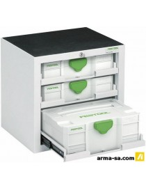 SYSTAINER-PORT SYS-PORT 500-2  Servantes métalliquesFESTOOL