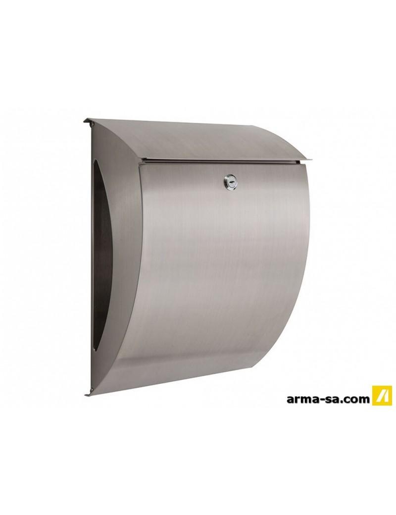 BOITE AUX LETTRES INOX SEATTLE  Boîtes aux lettres en métalGALICO