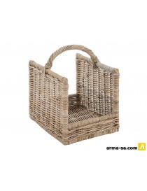 PANIER ROTIN RECTANGLE  Accessoires feux-ouvertsGALICO