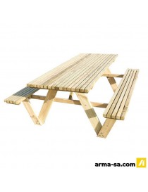 TABLE PIC-NIC CORDOBA 2000MM  Mobilier diversCARTRI