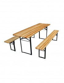 TABLE + BANC BRASSEUR 200-60-76  TablesVARAS