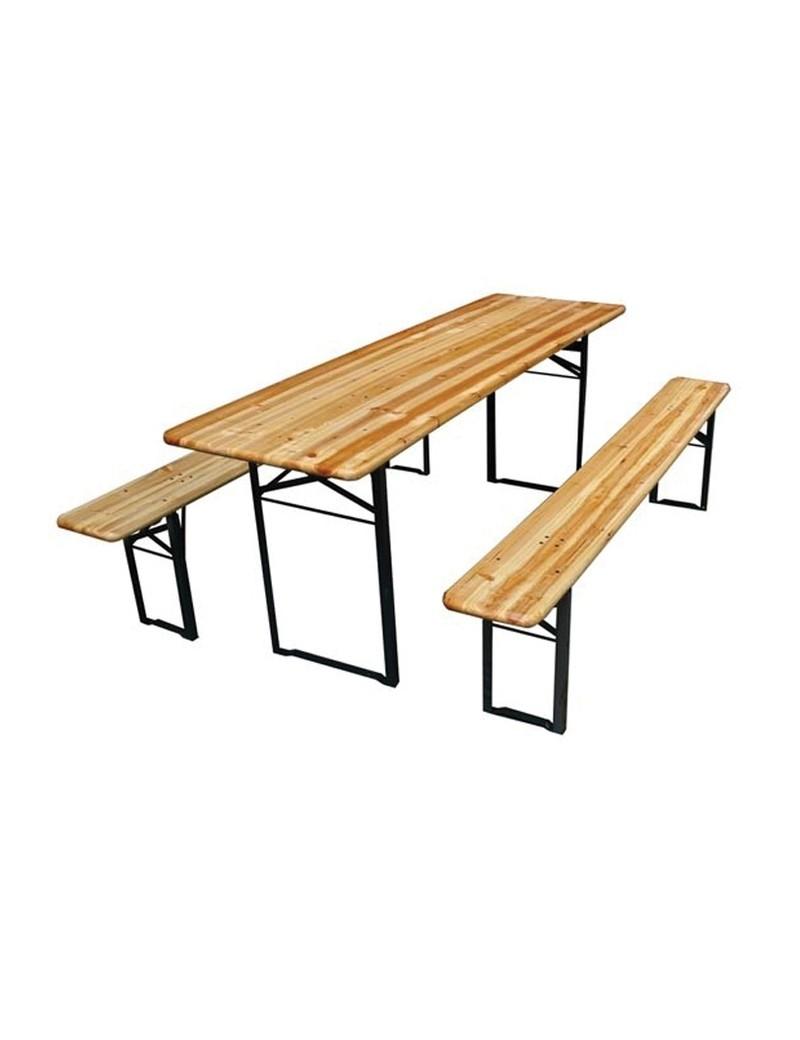 TABLE + BANC BRASSEUR 200-60-76  TablesVARAS