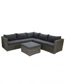 SET LOUNGE WICKER BARCA GRIS  Mobilier divers