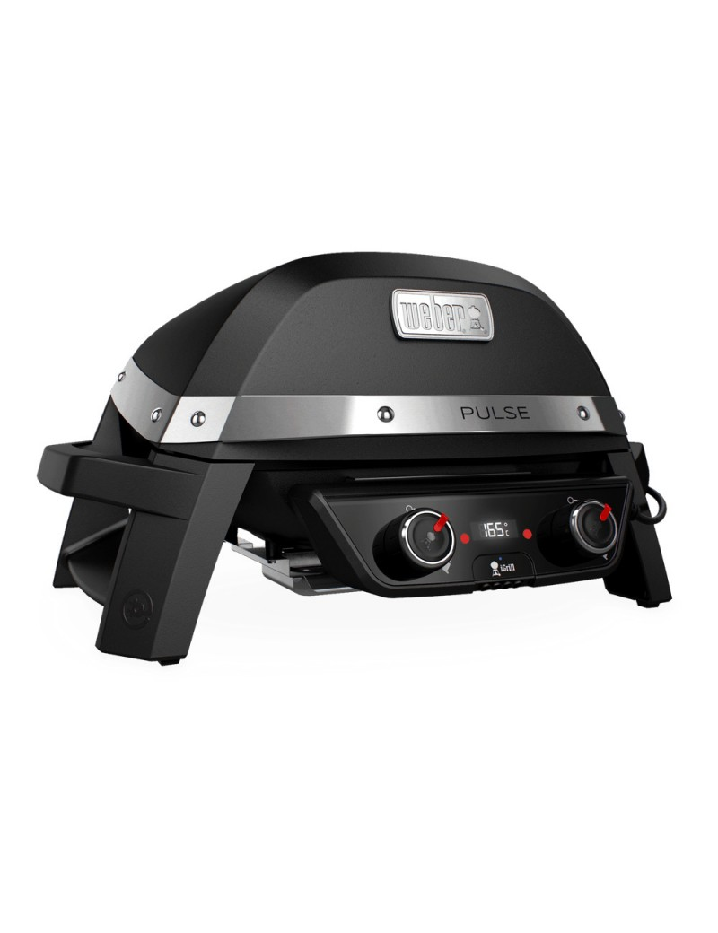 BBQ ELEC PULSE 2000 BLACK  Barbecue éléctriquesWEBER