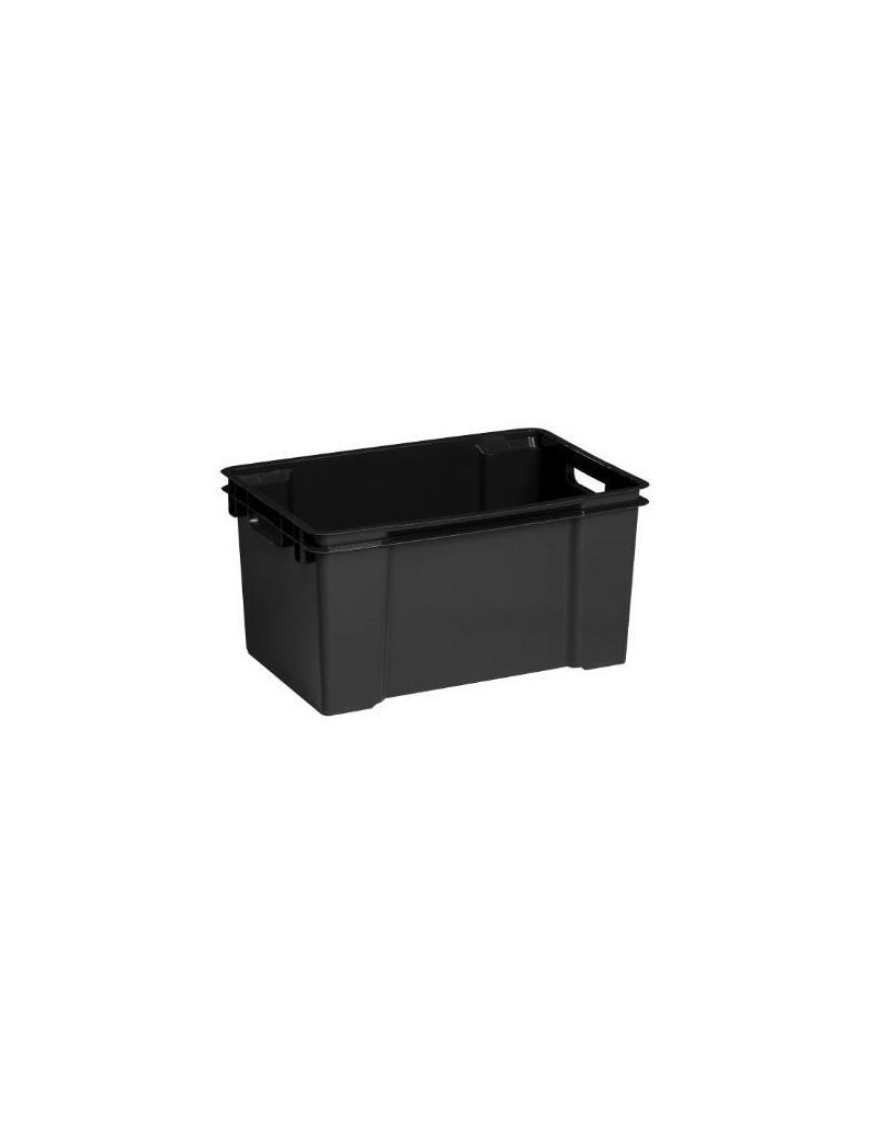 BOX VULCANO 50L NOIR  Boîtes plastiquesALLIBERT