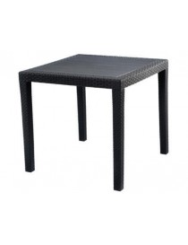 TABLE RESINE KING 80 ANTHRACITE.  TablesCSUN