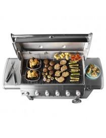 BBQ GAZ GENESIS II E-610 GBS BLACK  Barbecue au gazWEBER