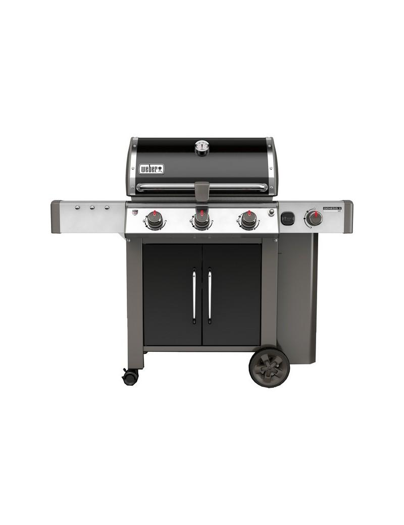 BBQ GAZ GENESIS II LX E-340 GBS BLACK  Barbecue au gazWEBER