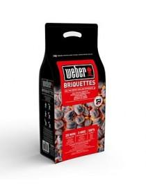 Briquette charbon WEBER 8kg FSC  Accessoires barbecueWEBER