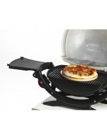 Pierre à pizza WEBER ronde diamètre 26cm  Accessoires barbecueWEBER