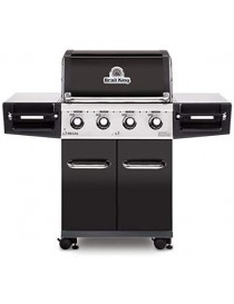 BBQ BROILKING REGAL 420 NOIR  Barbecue au gazBROILKING