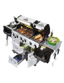 BBQ BROILKING IMPERIAL XL90 GRILLE FONTE-INOX  Barbecue au gazBROILKING
