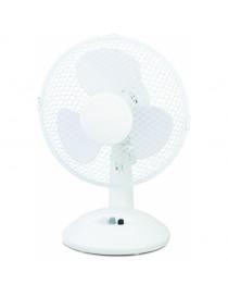 Ventilateur de table blanc 23cm de diamètre  VentilateursMENO