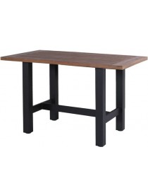 Table bar Sophie 180x100x110cm carbon noire  TablesHARTMAN