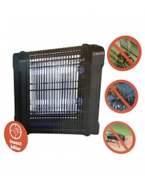 Lampe destructeur insectes 2x6W 50M²  InsecticidesMENO