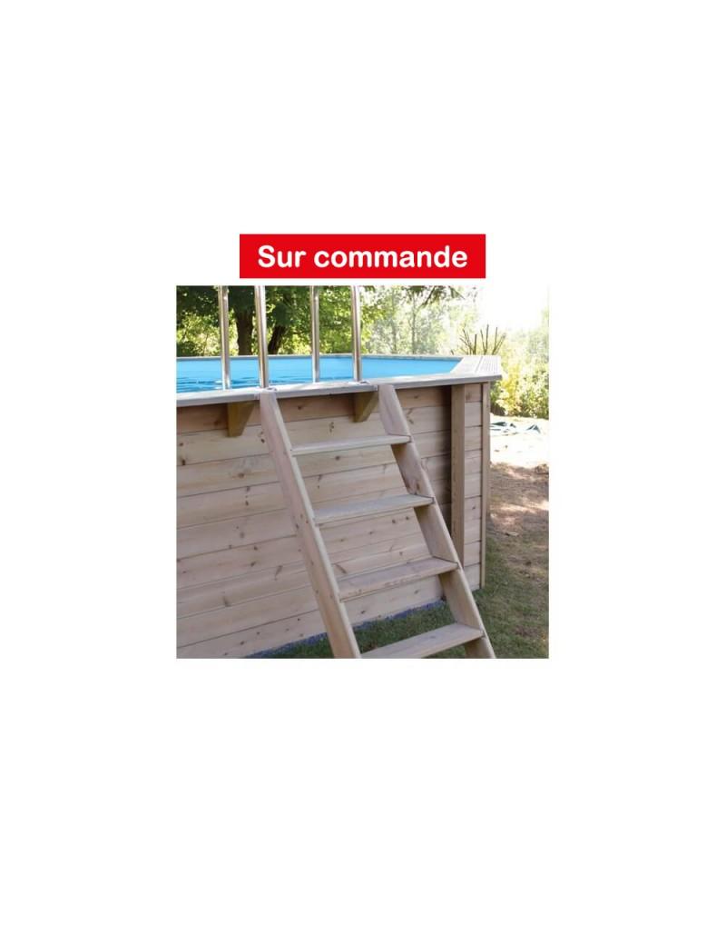 Piscine en bois Azura Hexagonale 410xH120cm  PiscinesUBBINK