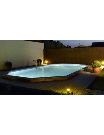 PISCINE OBLONG 3.90-6.20-1.20M PIN  PiscinesGARDIPOOL