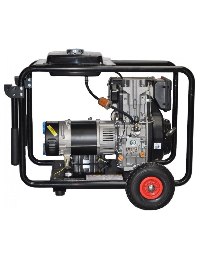 GROUPE ELECTRO DIESEL 10CV 6KVA MONO  Groupes électrogènes dieselGENERMORE