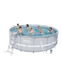Piscine Power Steel 4,27MX1,22H + cover BESTWAY  PiscinesBESTWAY