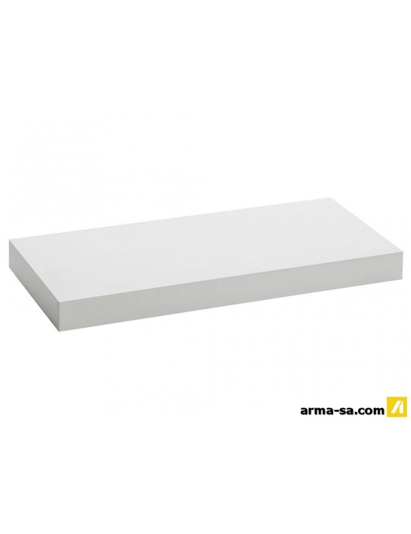TABLETTE MURALE 60CM BLANCHE  Système de tablettes décoratifGALICO