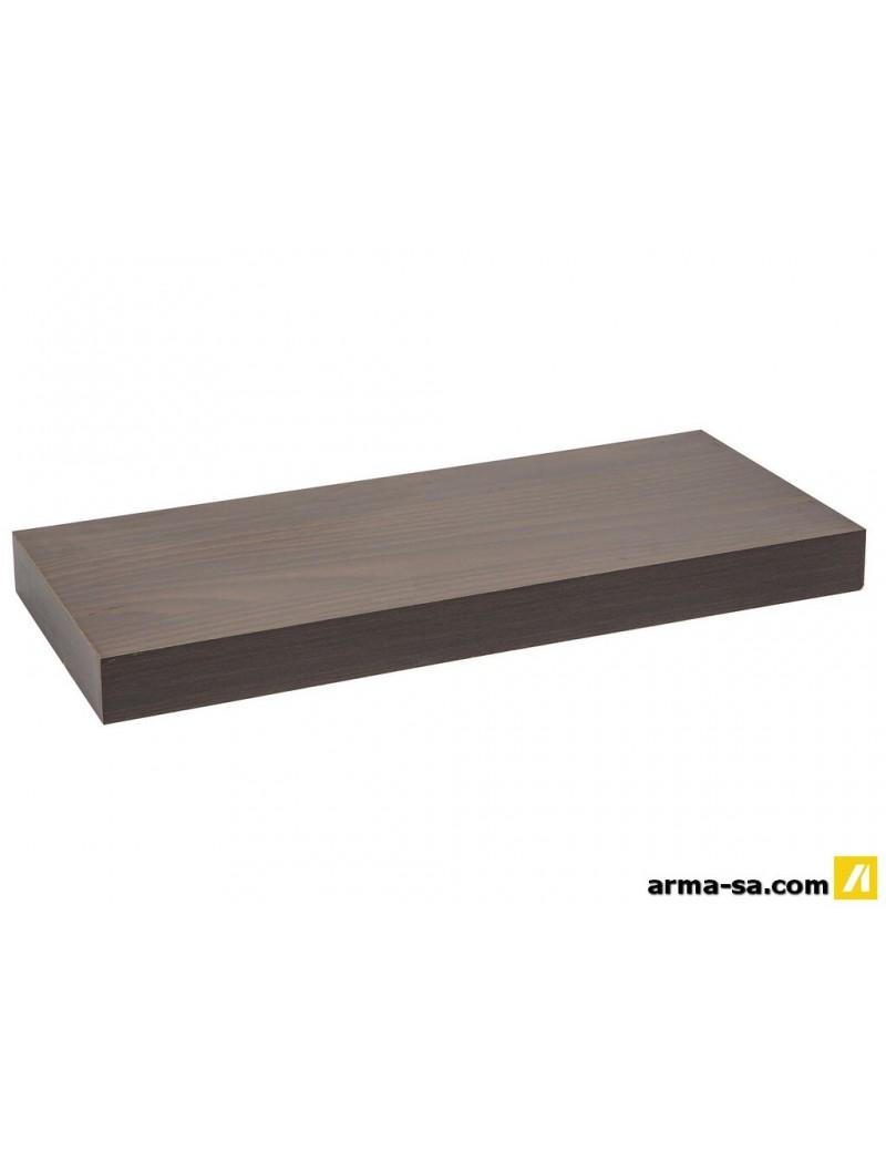 TABLETTE MURALE 60CM WENGE  Système de tablettes décoratifGALICO