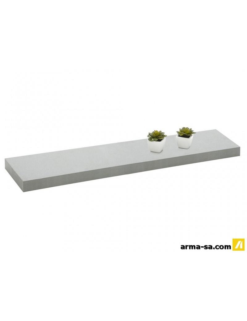 TABLETTE MURALE 90CM ARGENT  Système de tablettes décoratifGALICO