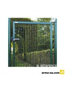 FORTINET PORTAIL SIMPLE BATTA.125-145VERT-PCE  TreillisBETAFENCE
