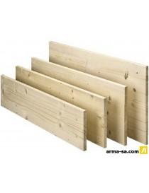 TABLETTE SAPIN 28MM A-B 200X30CM LAMEL.COLLE  Panneaux pour meublesKLENK