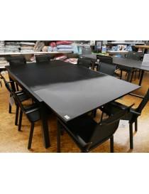 TABLE CARRE BLACKSTAR 8-12PERS 150-240  TablesWILSA