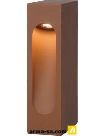 DIMO LED IP54 25-7-12CM ROUILLE 1X6W  Ampoules ledLUCIDE