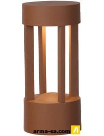 DIMO LED IP54 D9 H20CM ROUILLE 1X5W  Ampoules ledLUCIDE