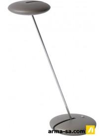 ALPA LAMPE DE BUREAU LED 5W H43CM GRIS ANT  Ampoules ledLUCIDE